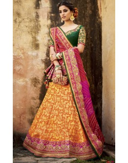Ethnic Wear Multi-Colour Lehenga Choli - KIMORA-L-511