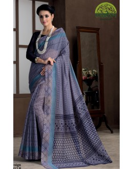 Casual Wear Purple Bhagalpuri Khadi Silk Saree  - 1812-B