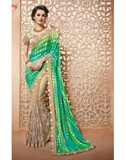 Ethnic Wear Multi-Colour Saree  - PATANG-3803