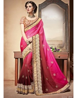 Festival Wear Mult-Colour Saree  - PATANG-3810