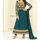Party Wear Rama Georgette Salwar Suit - EF094
