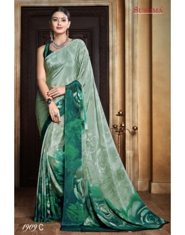 Ethnic Wear Multi-Colour Crepe Silk Saree  - SUSHMA-1909-C