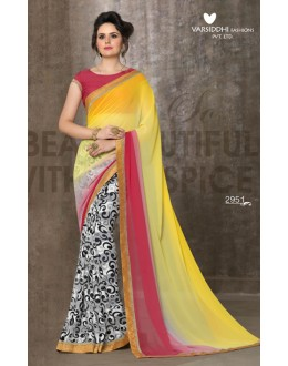 Casual Wear Multi-Colour Saree - 2951