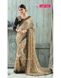 Traditional Multi-Colour Chiffon Saree  - VARISDDHI-3358