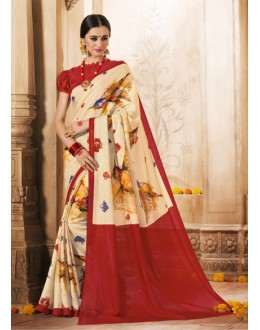 Ethnic Wear Multi-Colour Silk Saree  - VARSIDDHI-3501