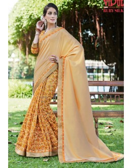 Ethnic Wear Multicolour Ruby Silk Saree  - 20604