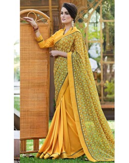 Ethnic Wear Multicolour Ruby Silk Saree  - 20609