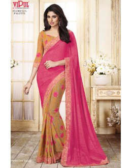 Festival Wear Multi-Colour Georgette Saree  - VIPUL-20913