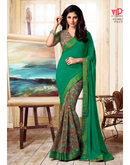 Casual Wear Multi-Colour Georgette Saree  - VIPUL-20914