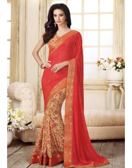 Ethnic Wear Multi-Colour Georgette Saree  - VIPUL-20919