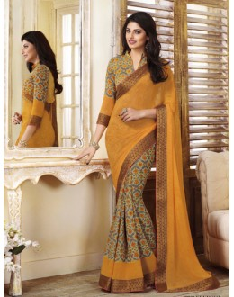 Ethnic Wear Multi-Colour Georgette Saree  - VIPUL-20920