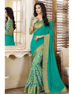 Ethnic Wear Multi-Colour Georgette Saree  - VIPUL-20925