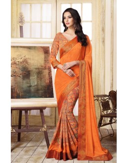 Party Wear Multi-Colour Georgette Saree  - VIPUL-20926
