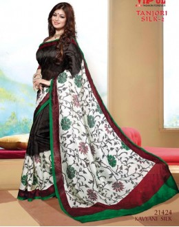 Casual Wear Multi-Colour Saree  - VIPUL-21424