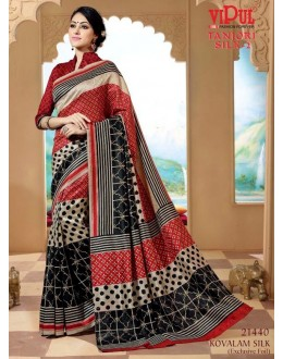 Festival Wear Multi-Colour Saree  - VIPUL-21440