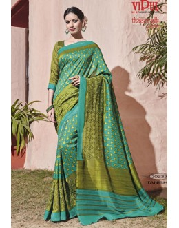 Festival Wear Thappa Silk Saree - VIPUL-30233