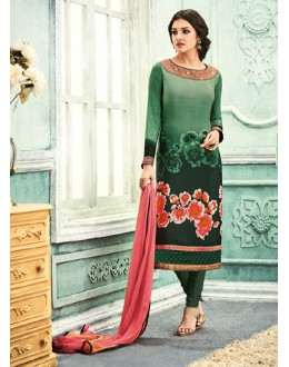 Ethnic Wear Multi-Colour Crepe Salwar Suit - 7101