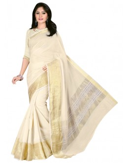 Ethnic Wear Cotton Silk Saree  - COTTON SILK1152