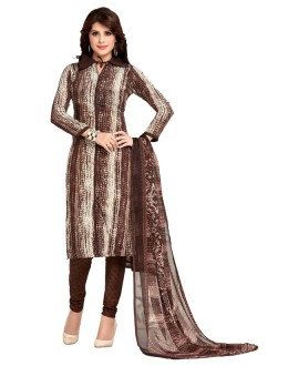 Casual Wear Brown Salwar Suit  - 5023