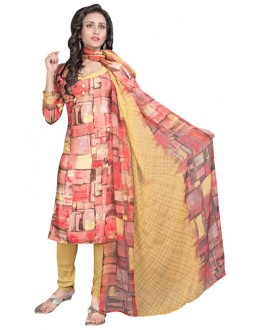 Casual Wear Multi-Colour Salwar Suit  - 6006