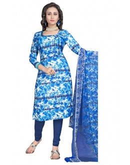 Office Wear Multi-Colour Salwar Suit  - 6008