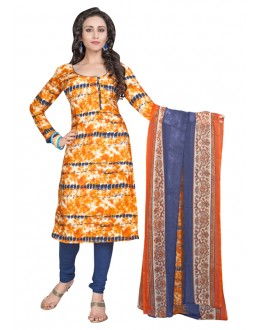 Ethnic Wear Multi-Colour & Blue Salwar Suit  - 6014