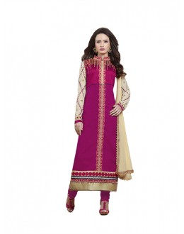 Eid Special Pink Cambric Cotton Salwar Suit - 4NZK910