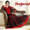 Designer Georgette Red Anarkali Suit - FFP1-1046