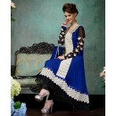 Party Wear Georgette Blue Anarkali Suit - FFP12-2020