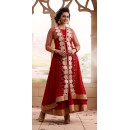 Rakul Preet Georgette Red Anarkali Suit - FFP13-2025