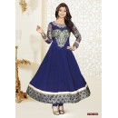 Designer Blue Anarkali Suit - FFP4-1062