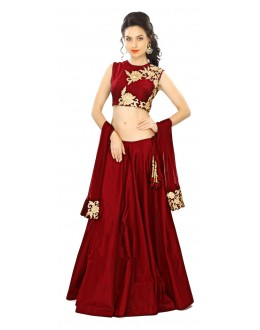 Bollywood Replica - Festival Wear Red Lehenga Choli - 24CL09-02