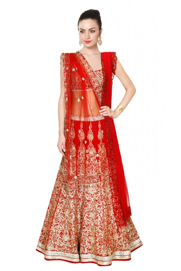 Bollywood Replica - Wedding Wear Red Lehenga Choli - 24CL09-06