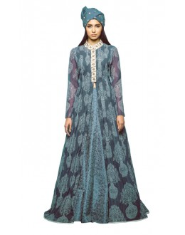 Bollywood Replica - Ethnic Wear Blue Lehenga Suit - 24CL09-08