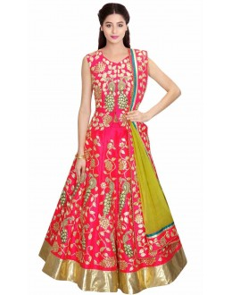 Bollywood Replica - Ethnic Wear Pink Lehenga Choli - 24CL09-09