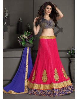 Gota Silk Pink Lehenga Choli Dress Material - 67639