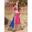 Net Pink Lehenga Choli Dress Material - 67651