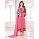 Party Wear Pink Georgette Salwar Suit - 70997
