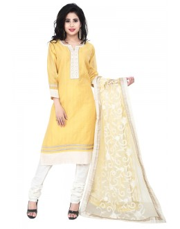 Party Wear Yellow Readymade Salwar Suit  -  71315