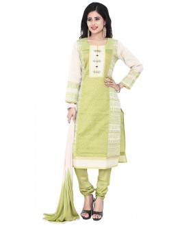 Party Wear Green Readymade Salwar Suit  -  71319