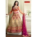 Designer Style Tan Brown Lehenga Choli - 71330