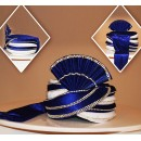 Traditional Royal Blue Velvet Groom Turban - 72513