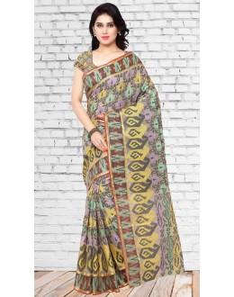 Designer Multicolour Chanderi Silk Saree  - 73126