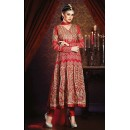 Bridal Red Georgette Anarkali Suit- 73537