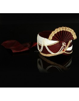 Wedding Wear Maroon Raw Silk Groom Turban - 74655