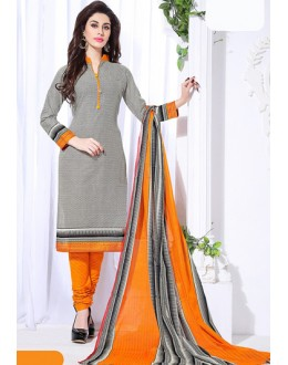 Ethnic Wear Multicolour Cotton Salwar Suit  - 74832