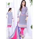 Festival Wear Multicolour Cotton Salwar Suit  - 74835