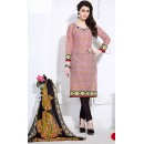 Ethnic Wear Multicolour Cotton Salwar Suit  - 74836