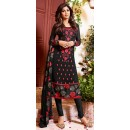 Festival Wear Black Georgette Salwar Suit  - 76052