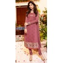 Shilpa Shetty In Pink Georgette Salwar Suit  - 76059